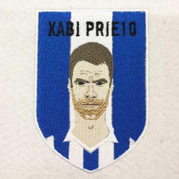 Parches Escudos Bordados Personalizados Real Sociedad Xabi Prieto
